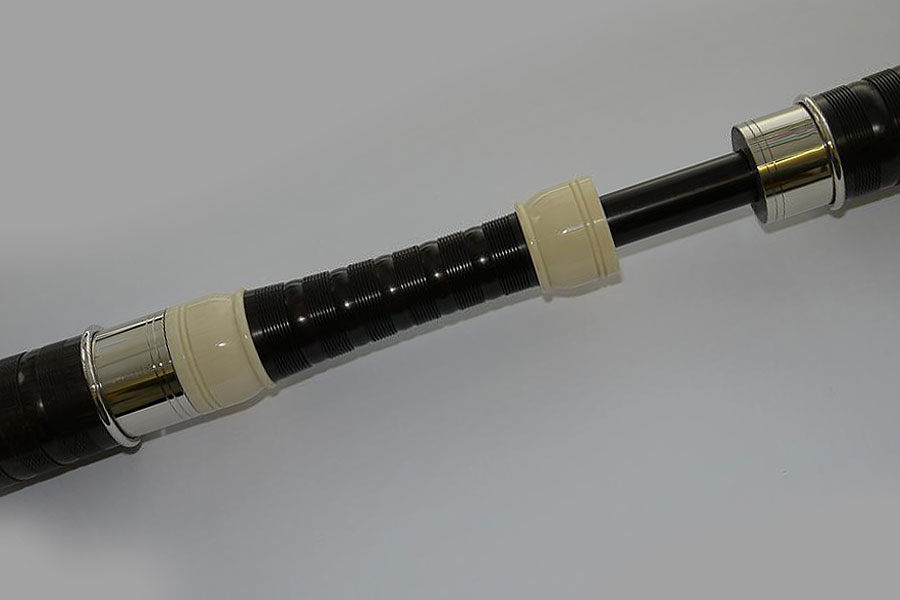 David Naill DN0A African Blackwood Bagpipes