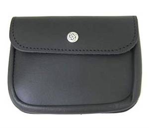 Leather Wallet Pouch. Large Size