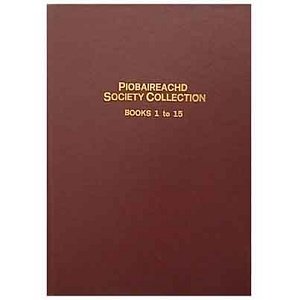 Piobaireachd Society Collection Bound
