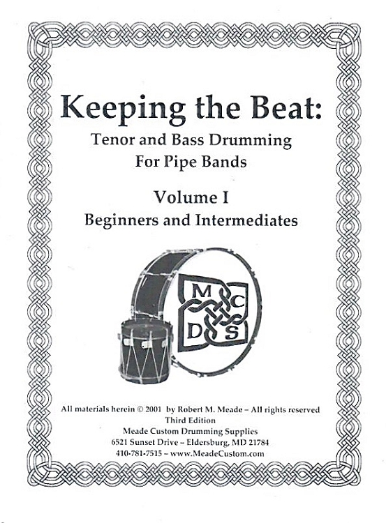 Meade - Keeping the Beat Book and DVD