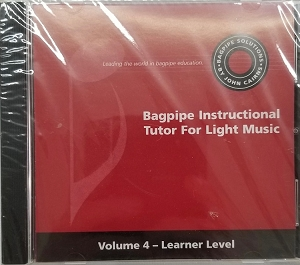 CD to Accompany Bagpipe Solutions Tutor Volume 4