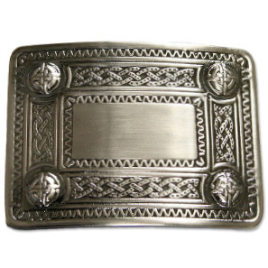 Celtic Buckle with Antique Finish