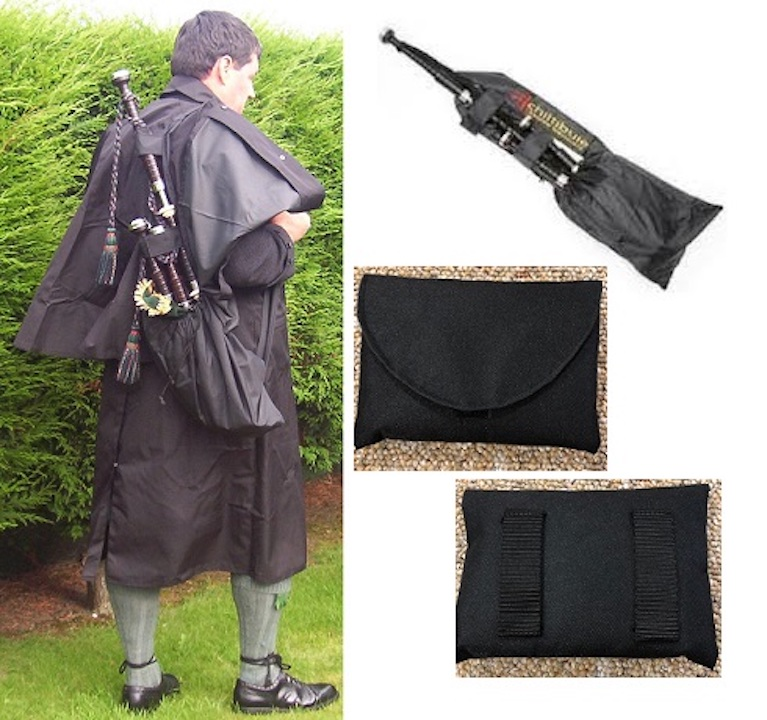 Hands Free Bagpipe Carrier