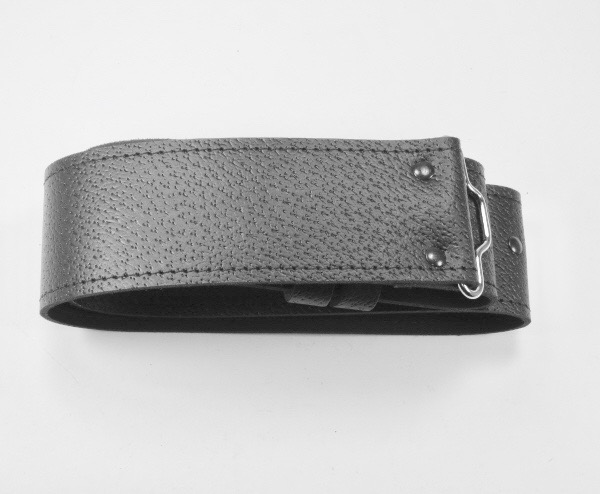 Standard Leather with Grain Finished Waist Belt