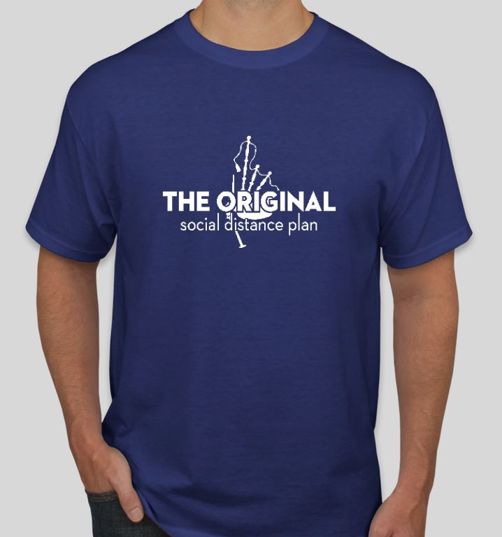 Original Social Distance Plan Tee