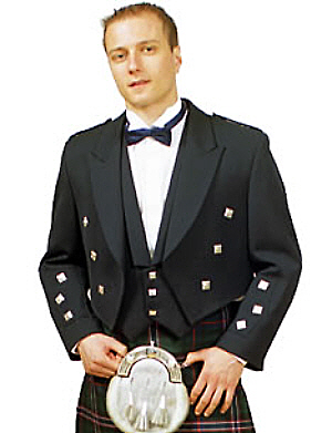 44 Short Prince Charlie Jacket and Vest - SAVE $45