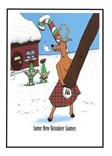 Reindeer Games Cards