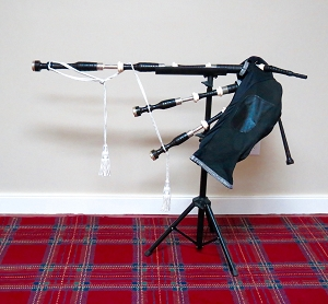 Bagpipe Stand
