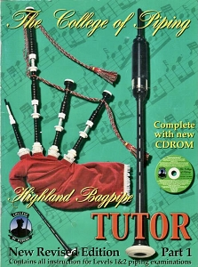 Used College of Piping Volume 1 Tutor Book
