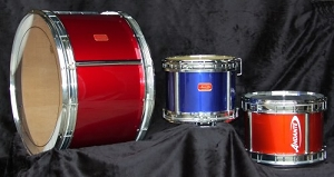 Andante Snare, Tenor, and Bass Drums