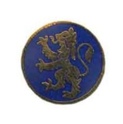 Rampant Lion Lapel Pin