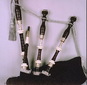 MacLellan Patriot Edition Great Highland Bagpipe