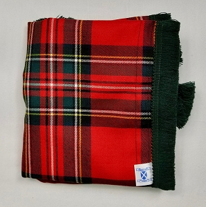 Royal Stewart Wool Bag Cover