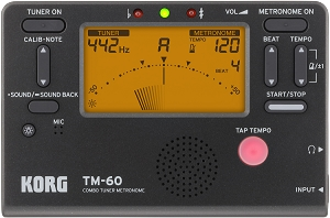 Korg TM 60 Metronome and Tuner