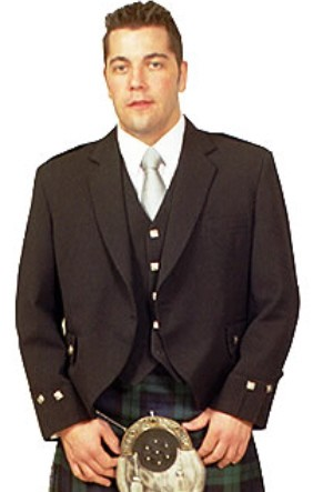 Size 44 Regular Argyle Jacket - SAVE $50